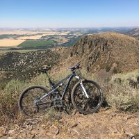 Sidewinder, overlooking the Snake River Plains, Idaho August 2016