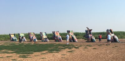 Trip Advisor lists Cadillac Ranch as one of the top attractions in Amarillo Texas