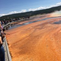 Grand Prismatic yellowstone by explorateurs.us