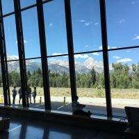 Grand Teton Visitor Center by Explorateurs.us