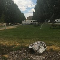 Heise Hot Springs RV Park. The Hot Springs pool is actually about 1/4 mile away from the campground.
