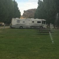 Heise Hot Springs RV Park. We have premier privacy, except for weekends.