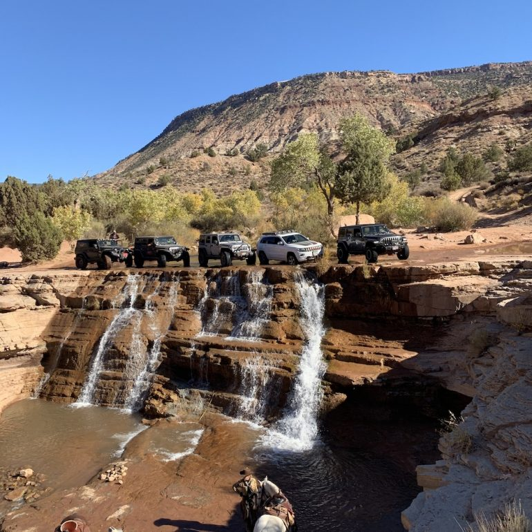 We made it to Toquerville Falls