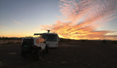 Sunset On Plomosa Road, Quartzsite AZ