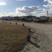 Roads are well maintained at the Crossroads RV Village