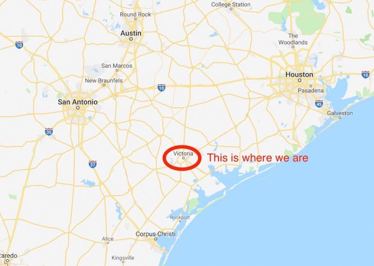 Victoria Texas, the Crossroads