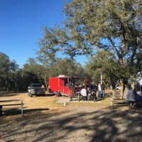 Food trucks - this one was BBQ, of course!