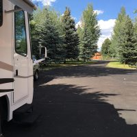 """The view from our front door while boondocking with 'friends of a friend."""""""