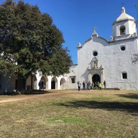 Mission at Goliad State Park